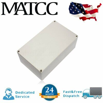 7.87x4.72x2.95 Abs Plastic Enclosure Project Box Hobby Case Waterproof Us