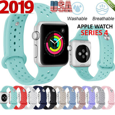 Sport Silicone Watch Band Strap Fr Apple Watch 3 4 38/42mm 40/44mm +Nike/Edition