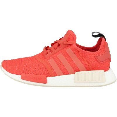 Scarlet Damen Schuhe (Adidas NMD_R1 Women Schuhe Damen Originals Freizeit Sneaker trace scarlet CQ2014)