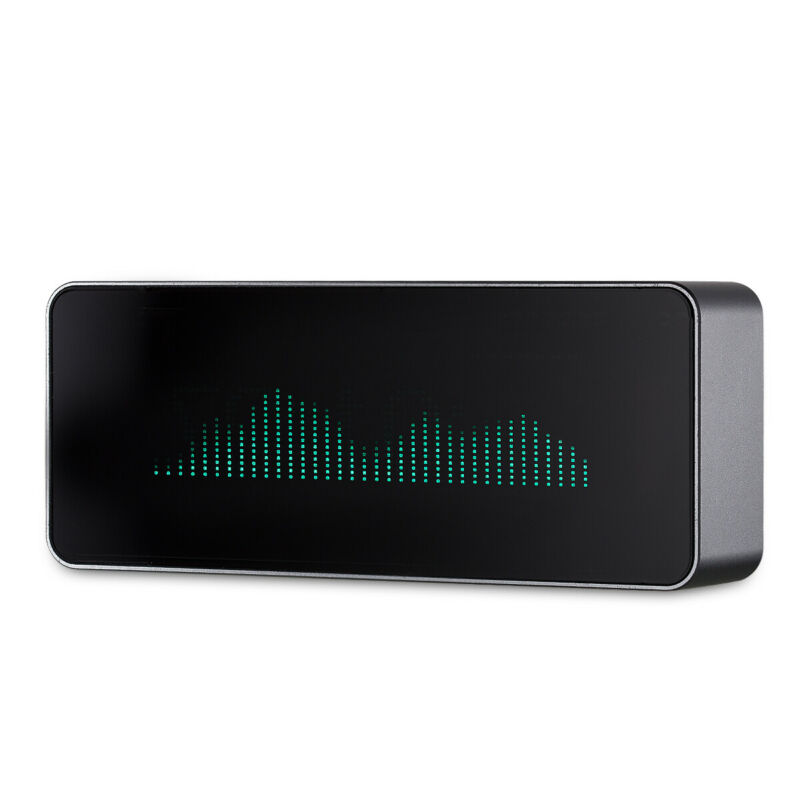 AK7115 Music Spectrum Analyzer Sound Level Indicator Display VU Meter VFD Clock