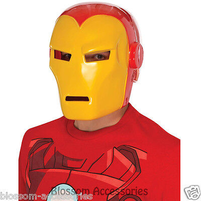 A581 Iron Man 3 Mark 42 Adult Mens Avengers Costume Fancy Dress Helmet Mask