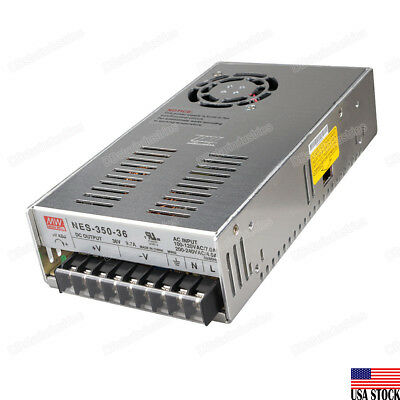 Mean Well Nes-350-36 350w Output Switching Power Supply 36vdc 9.7a Ul Certified