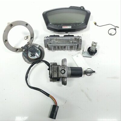 08 Ducati 1098 848 1198 Lock Set Ignition Switch Cap Key and Gauge