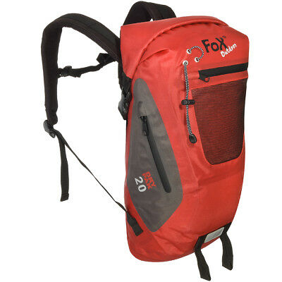 0724c31f4efc Fox Outdoor Waterproof Duffle Bag DRY PAK 20 Roll Haversack Cycling Outdoor  Red