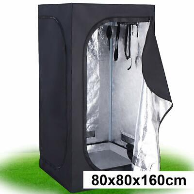 Indoor Hydroponic Grow Tent Portable Non-Toxic Plant Growing Room 80 X 80 X160CM