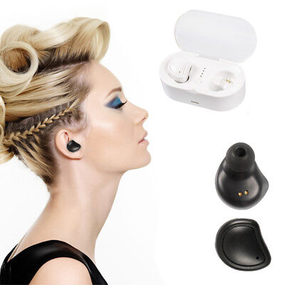 Mini Bluetooth TWS Earbuds Best Noise Cancelling Wireless Headphones Sports