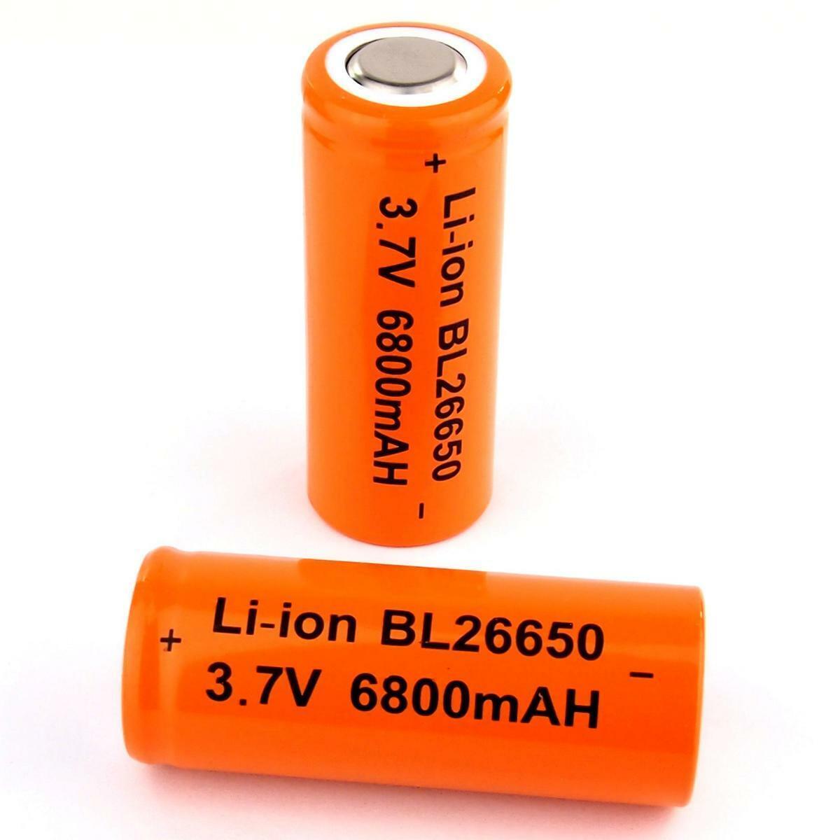 3 x iJoy INR26650 3,7V 4200mAh 40A Lithium Ionen Akku lose mit 2x CardioCell Box