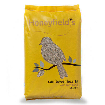 Honeyfield's Sunflower Hearts Wild Bird Food, 12.6kg **FREE POSTAGE**