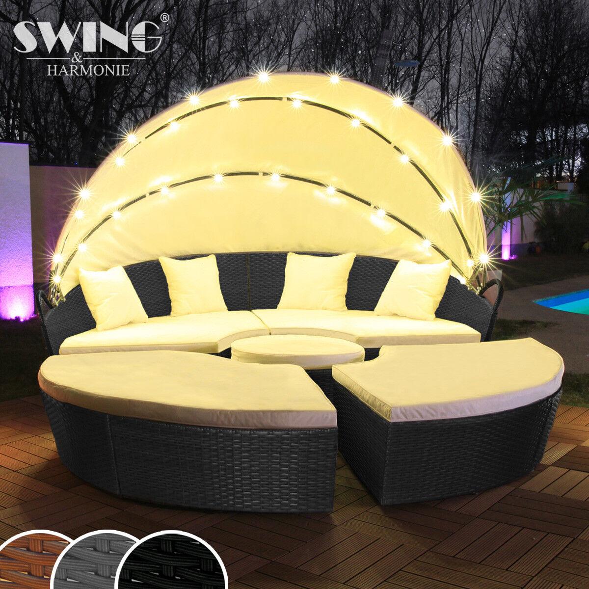 poly rattan sonnenliege carrara relaxliege. Black Bedroom Furniture Sets. Home Design Ideas