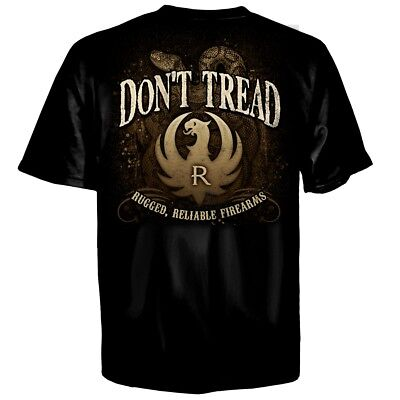 Ruger Bite Back  Dont Tread On Me T Shirt  Firearms Made In Usa  Sizes M   3Xl