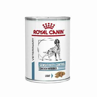 Royal Canin Sensitivity Control VHN Dog Food Wet Chicken Loaf Can 12 x 420g