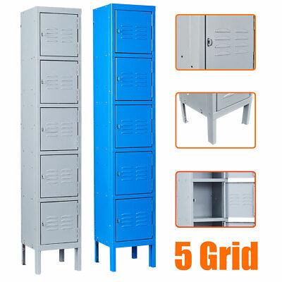 Storage Metal Cabinet Locker Secure Gym Locker School Office Home Tool Locker