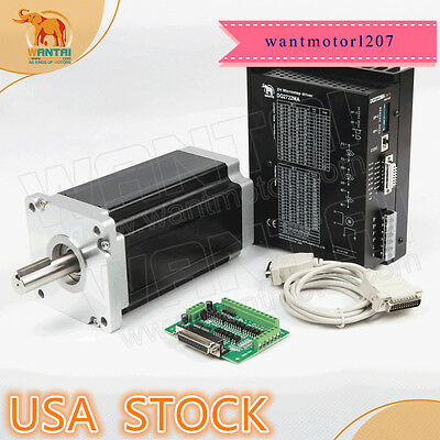 Us Ship Wantai 1axis Nema42 Stepper Motor 150mm 3256oz-in 6adriver 220v 9.8a