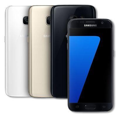 Samsung Galaxy S7 SM-G930F - 32GB - (Unlocked) Smartphone Black Gold Pink Silver