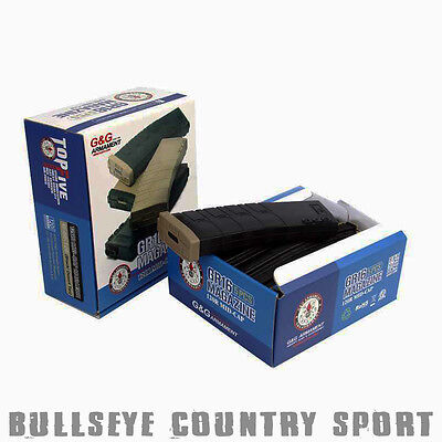 G&G Airsoft Magazine Box Set Black / Tan GR16 M Series G-08-126