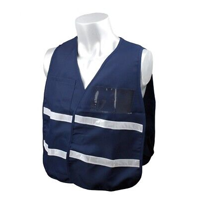 Full Source Reflective Incident Command Safety Vest Blue