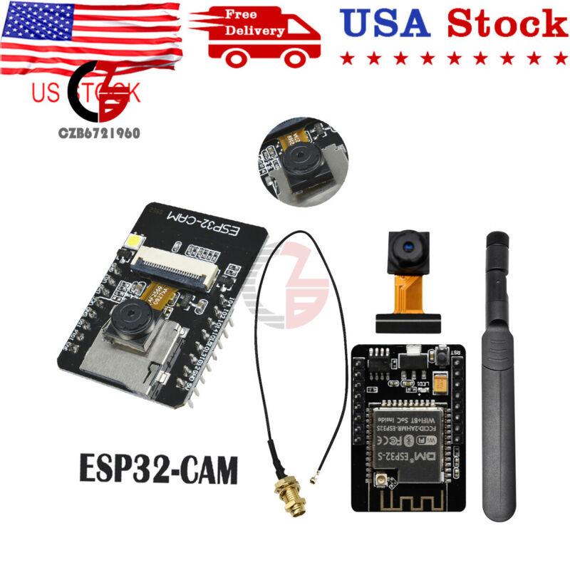 1/2/5pcs Esp32 Cam Wifi Bluetooth Module Development Board Ov2640 Camera Module