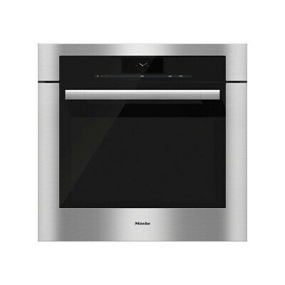 Miele H 6780 BP 30 In Single Electric Oven w 4.6 cu. ft. Convection Oven Silver