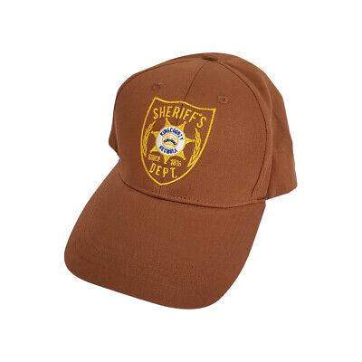 Sheriff's Dept. Hat Walking Dead Rick Grimes Costume Shane Walsh Baseball Cap - Walking Dead Rick Grimes Costume