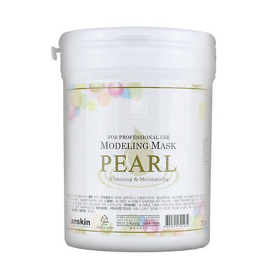 AnSkin PEARL Modeling Mask Powder Pack Whitening Moisturizing skin care 700ml
