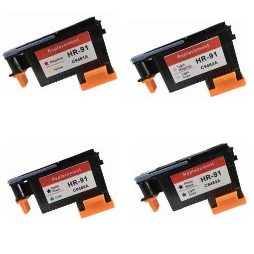 HP 91 Printhead LC/LM M/Y MK/C BK/LG C9460A C9461A C9492A C9463 Print head