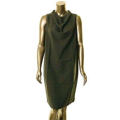 ANNE KLEIN NEW Women's Sleeveless Cowl Neck Shift Dress TEDO Sleeveless Cowl Neck Dress
