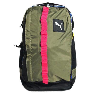 Puma Unisex Adults PY Fresh Backpack Rucksack Bag Burnt Olive 072213 03 Z41A