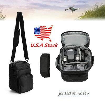 US ! Portable Carry Bag for DJI Mavic Pro Drone Storage Nylon Shoulder Backpack