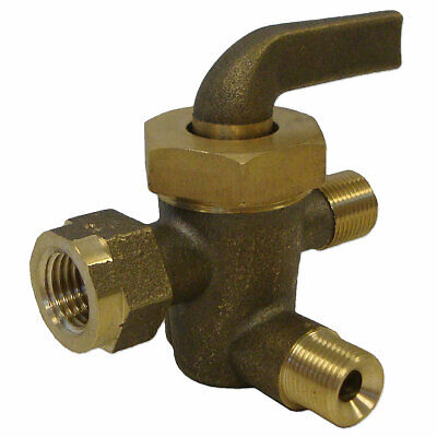 John Deere 3 Way Brass Fuel Valve Ar B Br G Ab609r