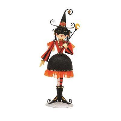 "Gallerie Ii Halloween (Glam Witch w Black Skirt 12"" Halloween Metal Figurine - Gallerie II -)"