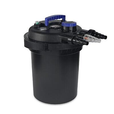 10000 Koi Pond Pressure Bio Filter UV Sterilizer Multi-Stage Filtration 4000 GAL