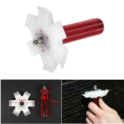Autos A/C Condenser Radiator Evaporator Fin Straightener Comb Rake Cleaner Tool