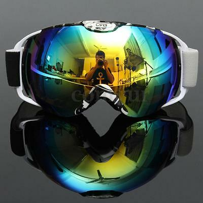 Professional Spherical Anti-fog Dual Lens Snowboard Skiing Goggle Gift UV400 SKI