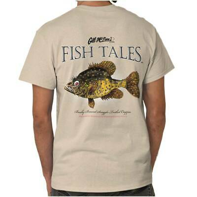 Snaggle Toothed Crappie Fish Sporting Goods Fishing Gear Funny T Shirt Tee