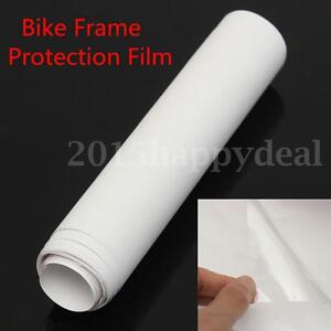 1M Extra Clear Bike Frame Protector Vinyl Tape 1000mm x 150mm -60° to +120°