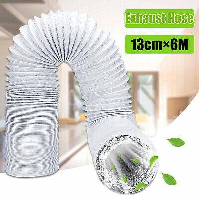 6M Flexible Ducting Vent Pipe Hose Aluminum For Air Conditioner Universal UK