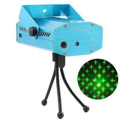 R&G Super Mini Projector DJ Disco LED Light Stage Party Laser Lighting Show Plug](Party Projector)