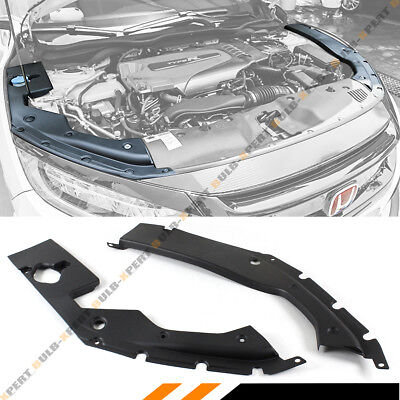 FOR 2016-19 10TH GEN HONDA CIVIC ENGINE BAY SIDE PANEL COVERS PAIR- LONG VERSION