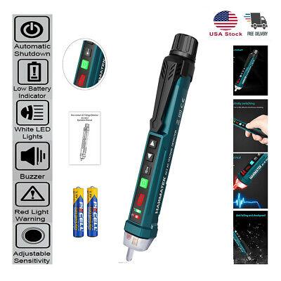 Non-contact Ac Voltage Tester Electrical Detector Pen 9 Gear Adjustable 12-1000v