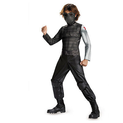 Captain America 2 The Winter Soldier Classic Child Costume Disguise - The Winter Soldier Costume