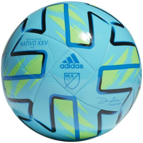 NEW Adidas MLS NATIVO XXV CLUB SOCCER BALL FH7317