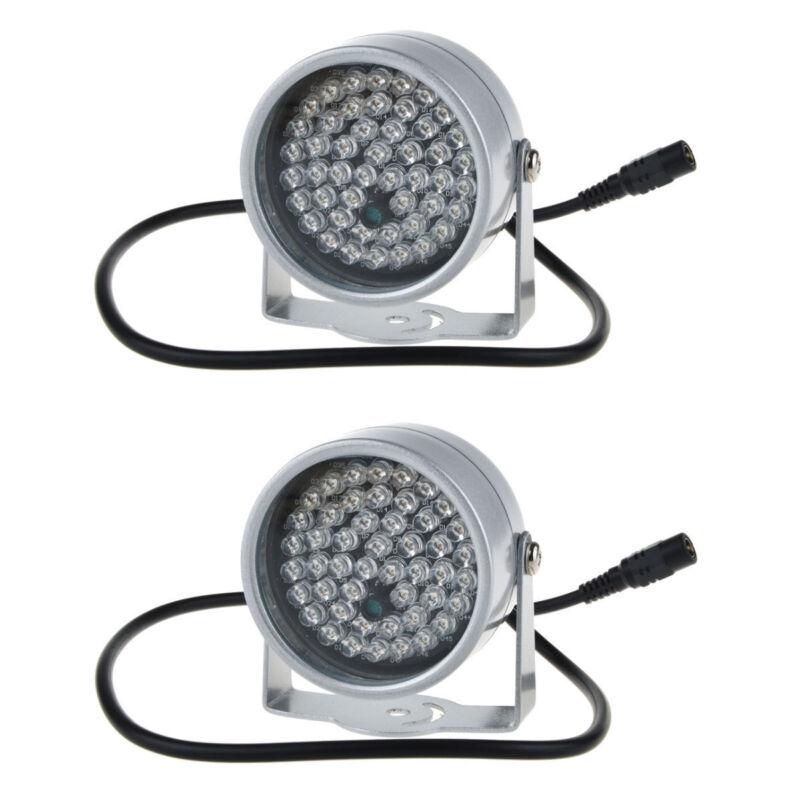 2pcs 48 LED Illuminator IR Infrared Night Vision Light for Security CCTV Camera