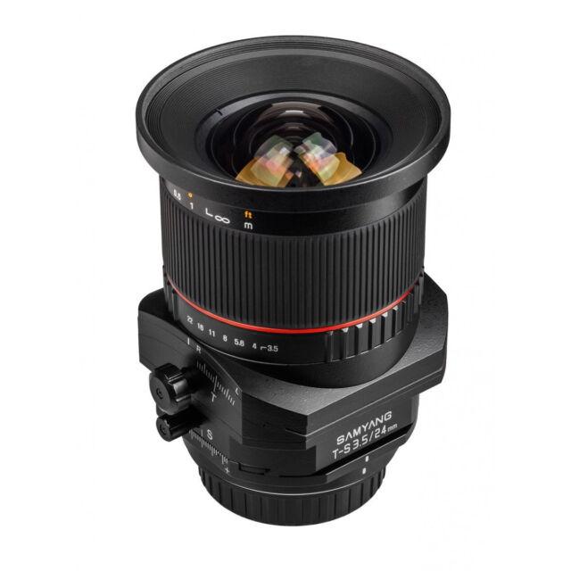Samyang T-S 24mm F3.5 ED AS UMC Tilt-shift for Canon