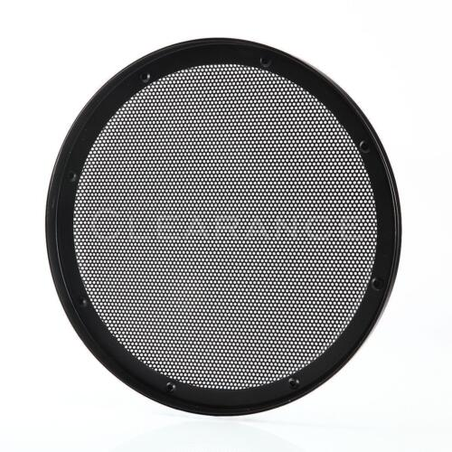 "New 10"" INCH UNIVERSAL STEEL / METAL MESH SPEAKER GRILL with RING DS10"
