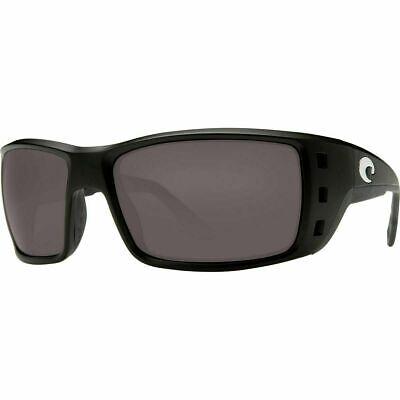 COSTA DEL MAR Permit 580G POLARIZED Sunglasses Black/Gray 580 Glass (Costa Del Mar Permit Sunglasses)