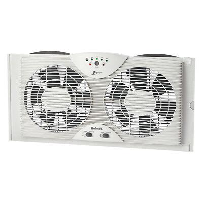 Holmes  Electronically Reversible Twin Window Fan HAWF2043-N