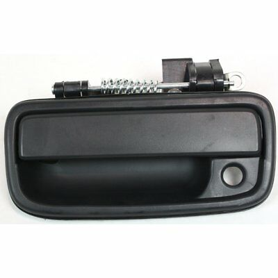 Exterior Door Handle For 95 2004 Toyota Tacoma Front Driver Side Black Plastic