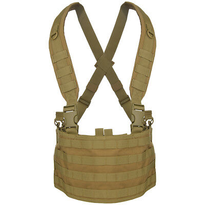 Condor Armee Combat Ops Chest Rig MOLLE Carrier Airsoft Gurtbänder Coyote Brown ()