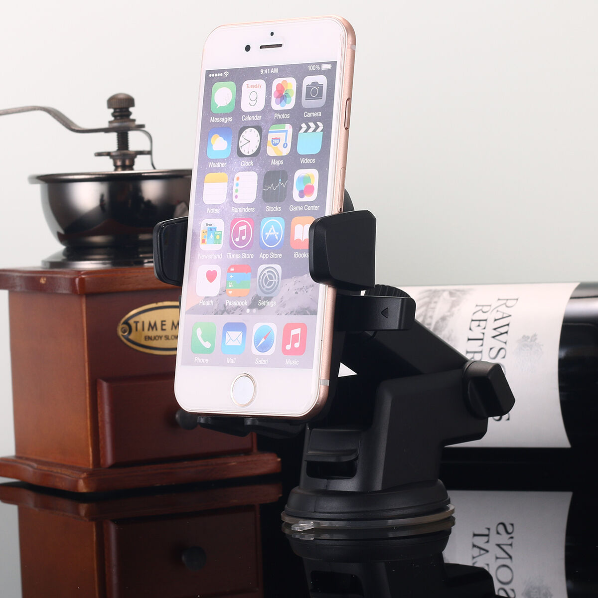 Купить 360° Mount Holder Car Windshield Stand For Mobile Cell Phone GPS iPhone Samsung