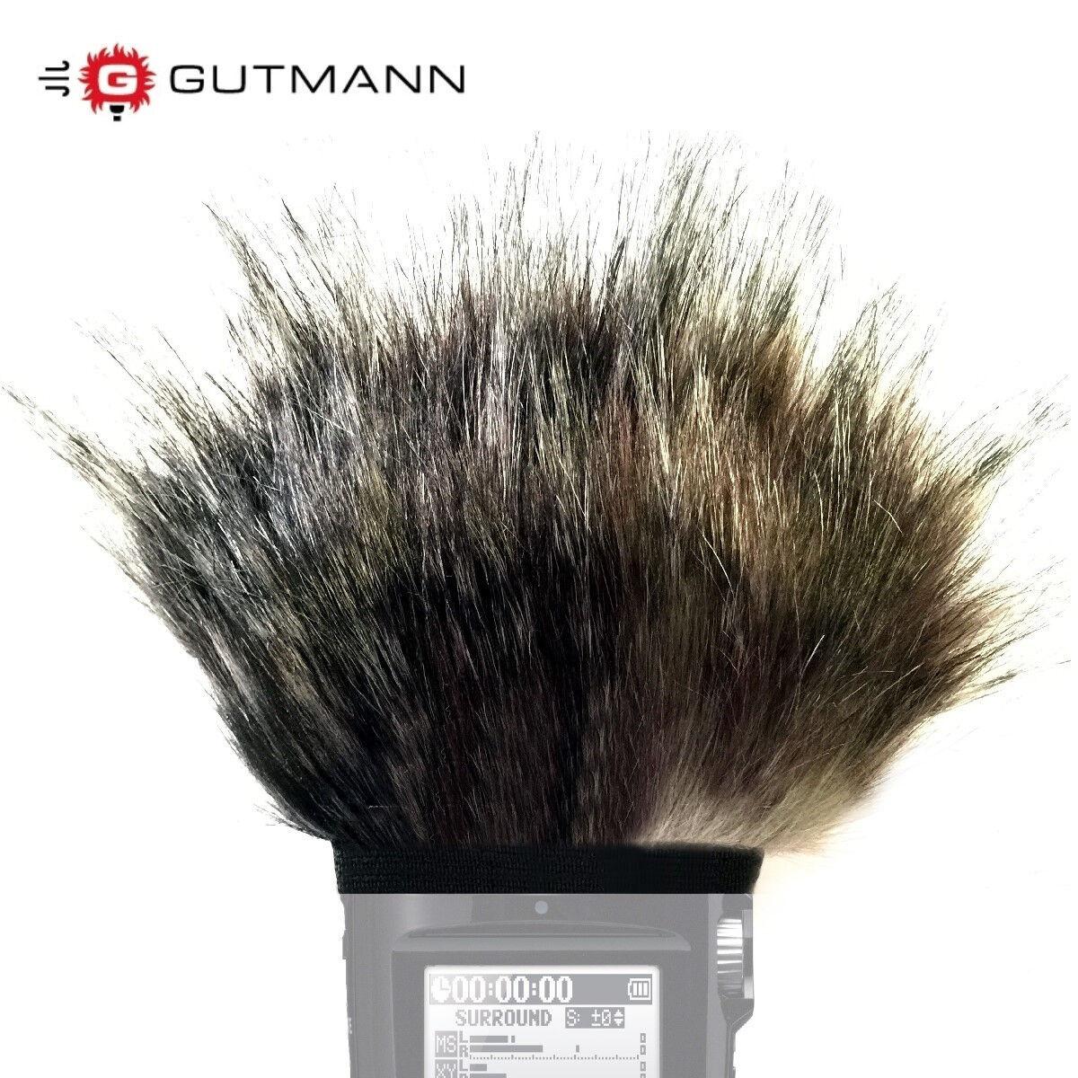 Gutmann Mikrofon Windschutz Für Universal Camcorder Handycam Video Production & Editing